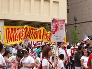 May Day Rally at Daley Plaza 2010
