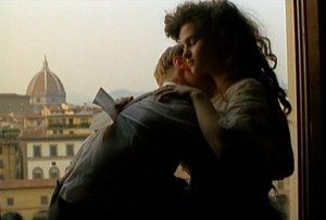 "Helena Bonham Carter in ""A Room with a View"""