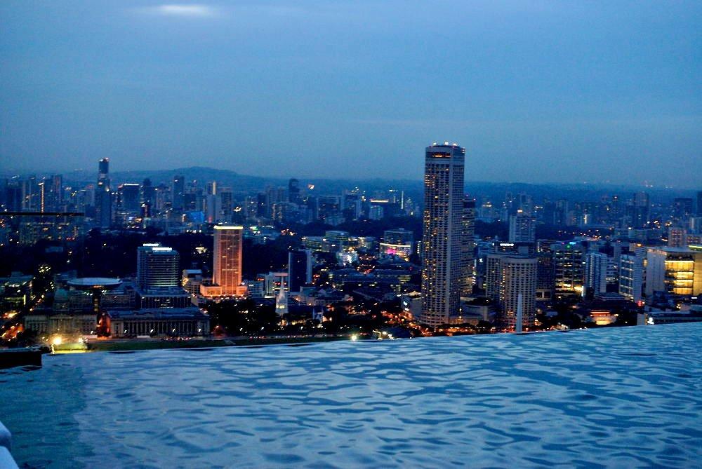 infinity pool singapore edge. Over The Edge Infinity Pool Singapore H