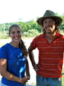 Abra and Jess of Bare Knuckle Farm