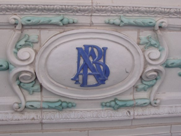 North Avenue Baths detail