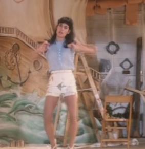 Lisa hulus in Dirty Dancing