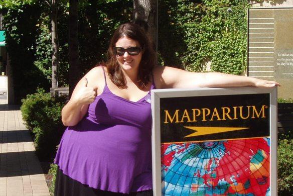 outside the Mapparium