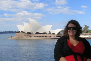 me and Sydney Opera House