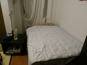 Air BnB home, Budapest, Hungary; July 4-7, 2013