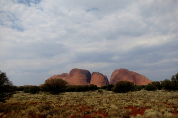 Kata Tjuta from a distance
