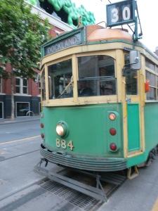 Old school tram
