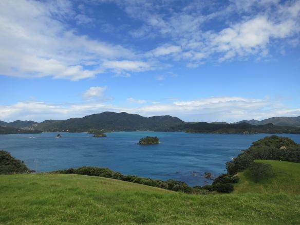 View from the hilltop on Urupukapuka