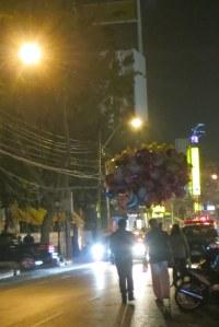 Balloons on the way to Khaosan Road