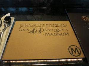 magnum bar