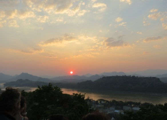 Sunset, Luang Prabang, Laos