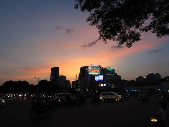 Sunset, Ho Chi Minh City, Vietnam