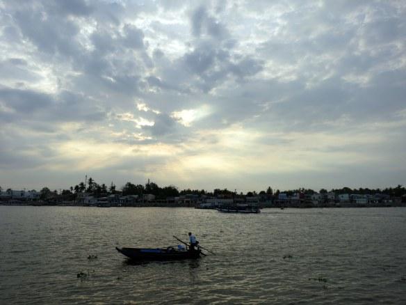 Sunrise, Can Tho, Mekong Delta, Vietnam