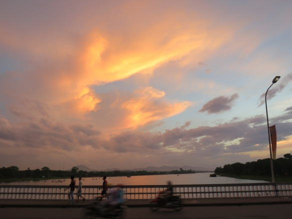 Sunset, Hue, Vietnam