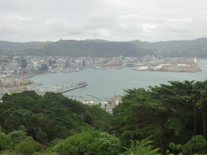 View from Mount Vic