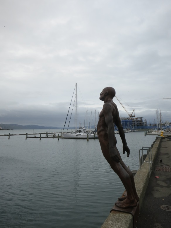 Much of the public art in Wellington plays on how windy it is there.