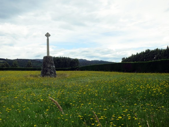 A 1998 memorial of the Glencoe Massacre in Scotland--which happened in 1692. Now that's what I call holding a grudge.