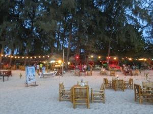 The restaurant scene on Koh Lanta