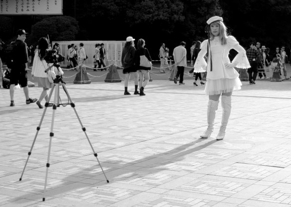 Harajuku fashion shoot