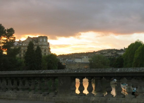 Sunset, Bath, England