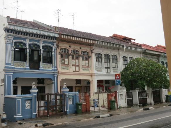 Rowhouses of Singapore