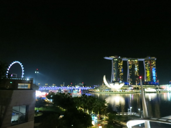 Marina Bay at night