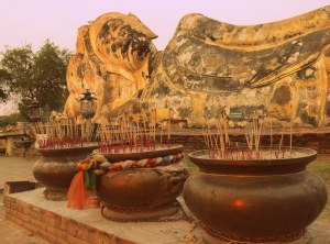 Reclining buddha of