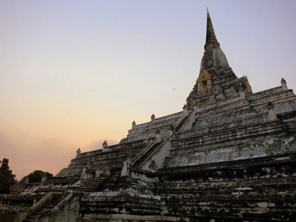 Sunset, Ayutthaya, Thailand