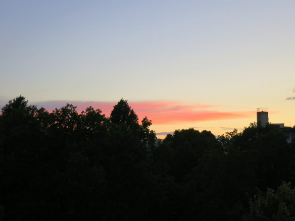Sunset, Berlin, Germany