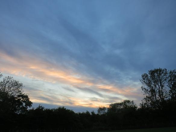 Sunset, Olney, England