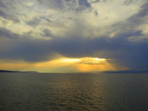 Sunset, Split, Croatia