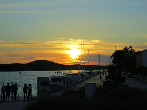 Sunset, Sibenik, Croatia