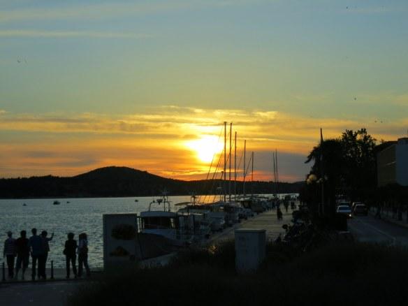 Sunset, Sibenik, Croatia