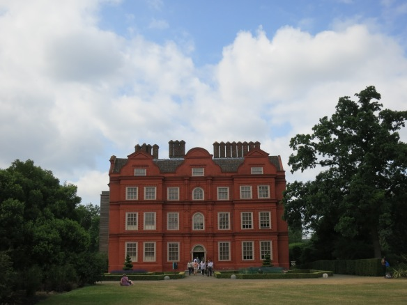 Kew Palace, the smallest royal residence in Britain. George III lived here during one of his bouts of madness.