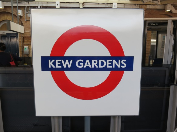They have their own tube stop.