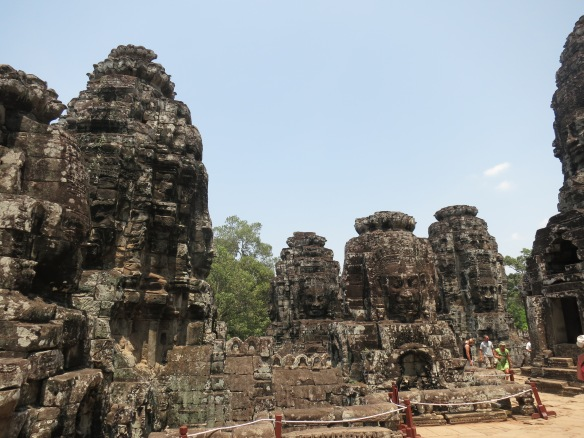So many faces at Bayon