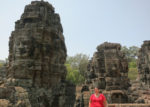 At Bayon in Angkor Thom