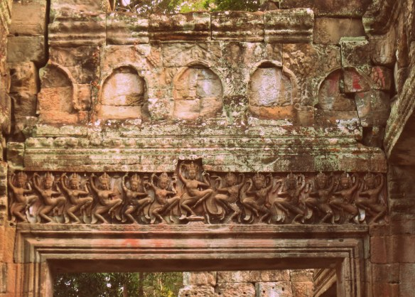 The hall of dancers at Preah Khan