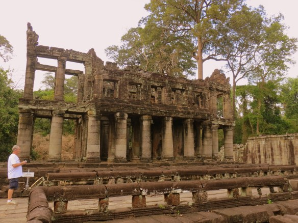 The library at Preah Khan