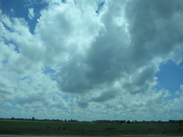Big skies in Ontario