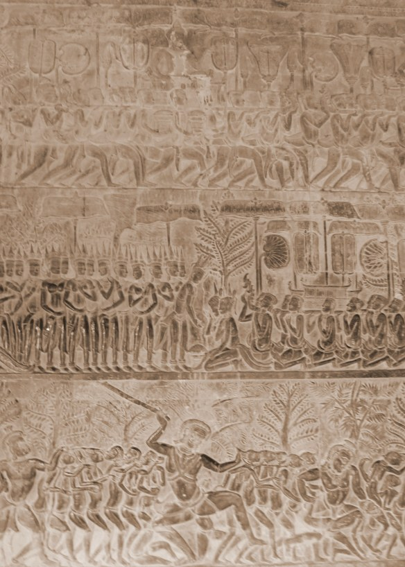 Bas-relief frieze
