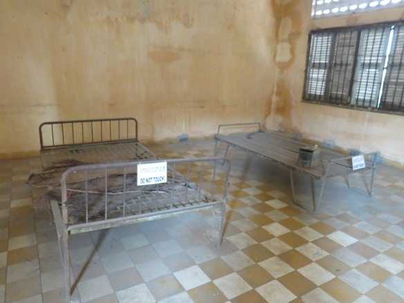 One of the prison rooms