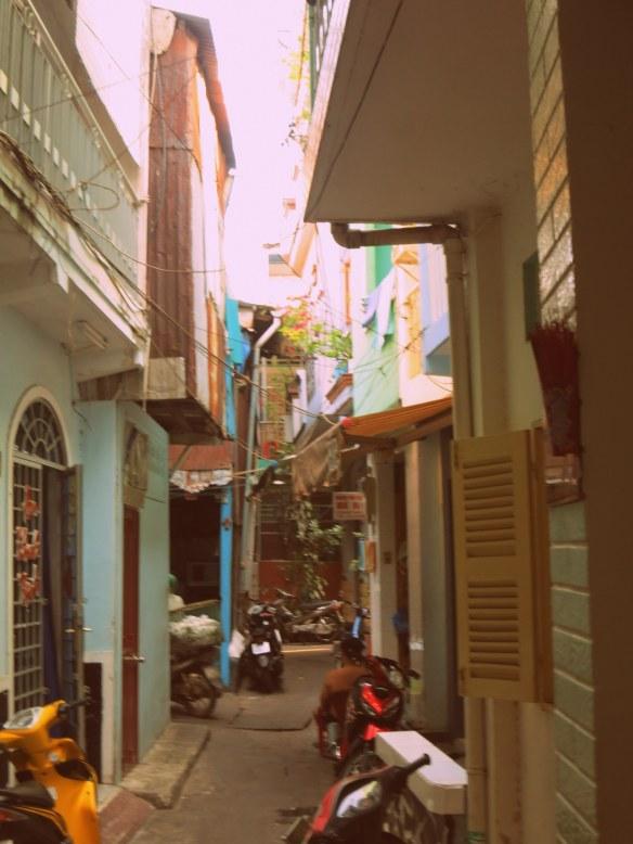 Alleyway in Ho Chi Minh City