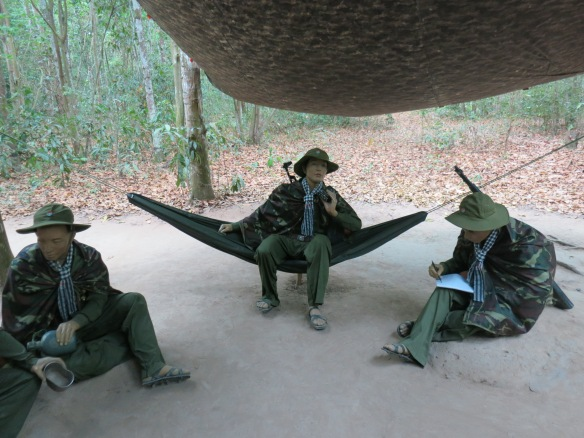 An eerie kind of ambiance at the Cu Chi Tunnels