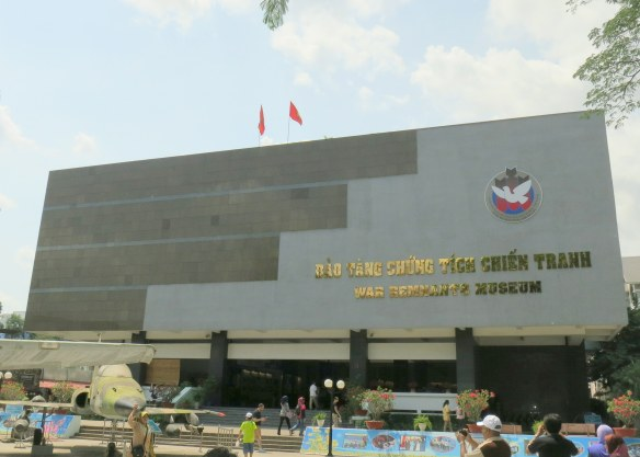 The War Remnants Museum in Ho Chi Minh City, Vietnam