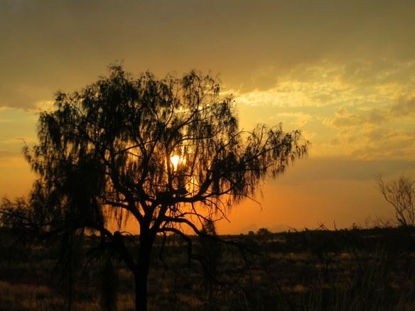 Sunset, Uluru, Australia