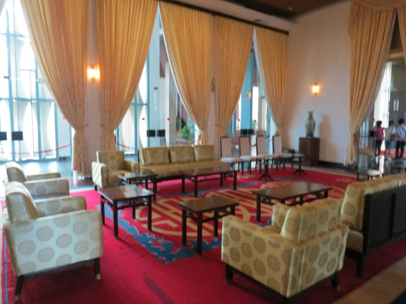 One of the reception rooms