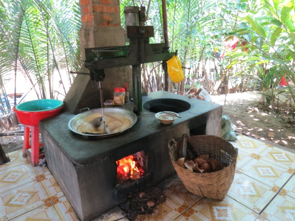 Cooking up coconut candy