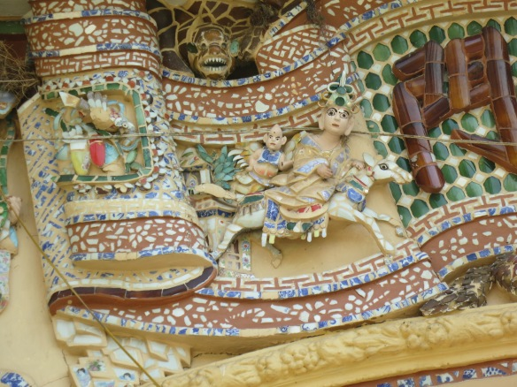 The mosaics were small but lovely