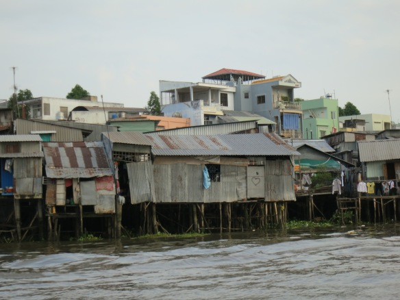 Housing along the river